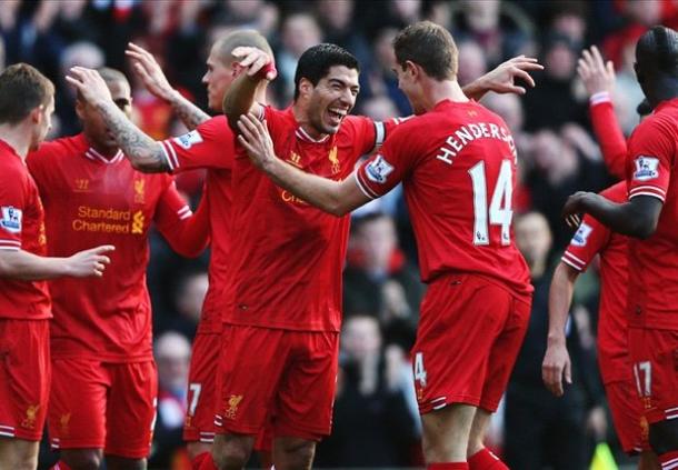 Suarez Mendapatkan Penghargaan Pertamanya Bersama Liverpool