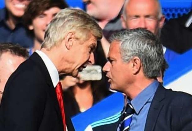 Mourinho Pancing Tim Arsenal
