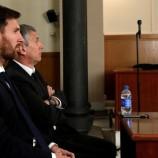 Messi Resmi Dijatuhi Hukuman 12 Bulan Penjara Atas Penggelapan Pajak