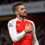 Giroud Sabar Tunggu Peluang Tampil Bersama Arsenal