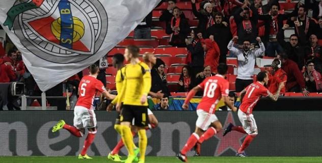 Benfica Kalahkan Dortmund Dengan Skor 1-0