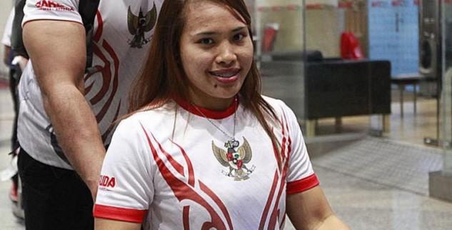 Atlit Angkat Besi Indonesia Targetkan Emas Di ASEAN Games