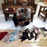Seorang Pria Nekad Mencuri Pakaian Dalam Wanita Untuk Koleksi