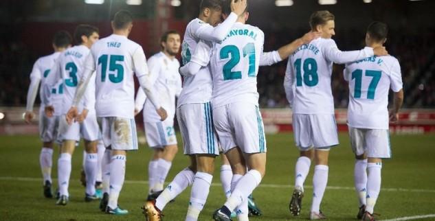 Leg Pertama Madrid Berhasil Menang