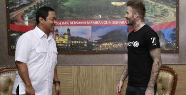 David Beckham Juga Mendatangi Balai Kota Semarang