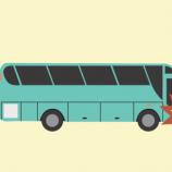 Kecelakaan Bus Pariwisata Dengan Truk Tronton Bermuatan Minyak Goreng Di Tol Ngawi-Kertosono