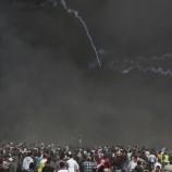 Demo Di Perbatasan Gaza Warga Palestina Di Tembak Tentara Israel