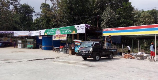 Tiga Rest Ruang Sesaat Tol Ruas Semarang-Salatiga Siap
