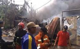 Kebakaran Di Pemukiman Utan Kayu Utara Dan Kebayoran Lama