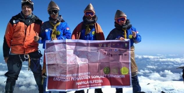 Taklukan Puncak Gunung Elbrus Untuk Indonesia