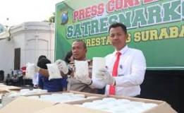 Polisi di Surabaya Amankan Jutaan Pil Obat Terlarang Senilai Rp 15 Miliar