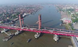 Bibir Sungai Musi Kini Dipenuhi Sampah, Terakhir Dibersihkan Akhir 2017