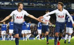 Tottenham Raih Kemenangan Besar Saat Bertamu ke Everton