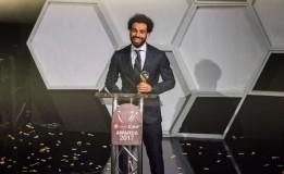Salah Menyabet Penghargaan Pemain Terbaik Afrika 2018