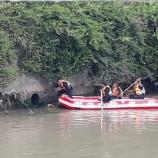 Pencuri Motor Ini Nekat Ceburkan Diri ke Sungai Karena Aksinya Tepergok Warga